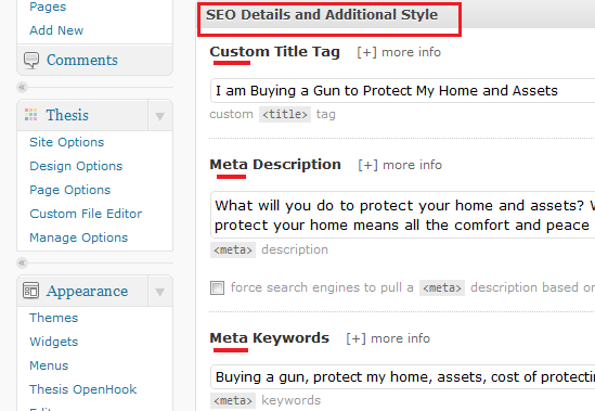 Blog Post Meta Tags