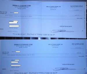 ClickBank Payment (Account 2) $449.54