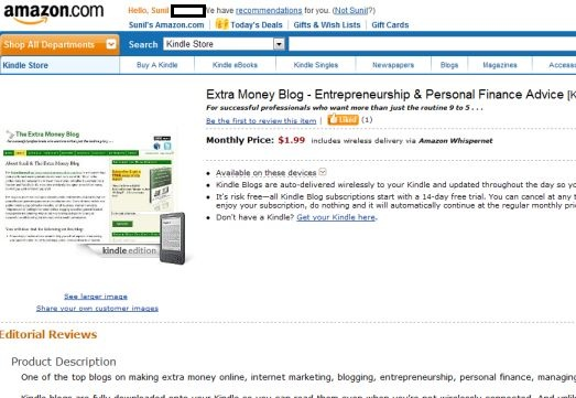 Earn Passive Income with Amazon Kindle Publishing for Blogs | The