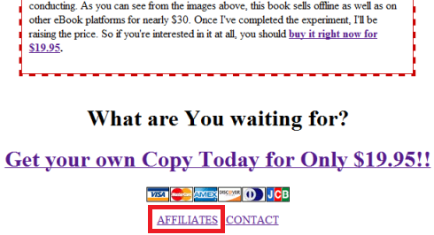 eBook Affiliates Page