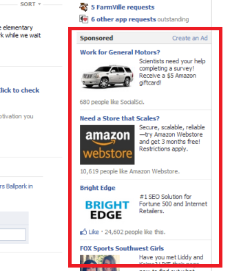 how to find an ad on facebook